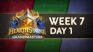 Hearthstone Grandmasters 2020 Season 1 | Week 7 Day 1