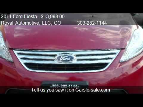 2011 Ford Fiesta SEL Sedan - for sale in Englewood, CO 80113