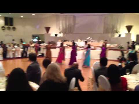 Cousins Dance at Wedding Reception -Tamil, English and Hindi songs
