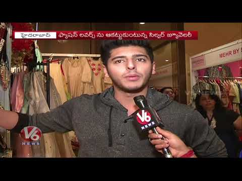Huge Demand For Silver Jewellary, Latest Designs Attracts People In City | V6 News