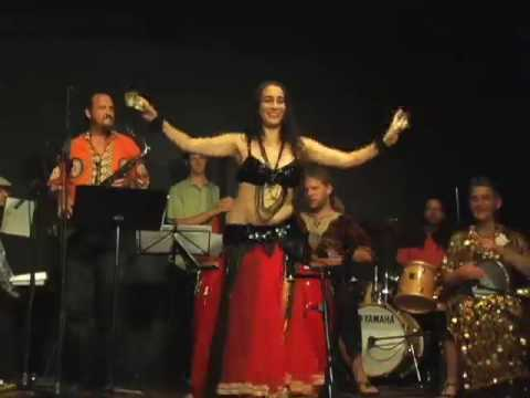 Belly dance by Nanna Candelaria (Part 2: drum solo)