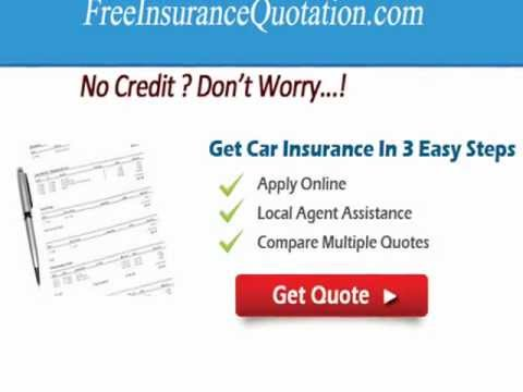 Auto Insurance Quote Without Credit Check - No Credit Check Required For People With Poor Credit