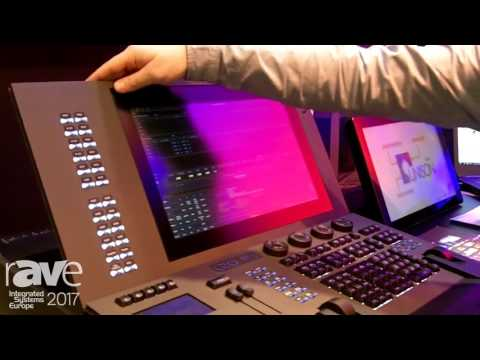 ISE 2017: ETC Demos GIO@5 Theatrical Lighting Console