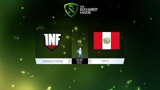 Dota 2   Infamous vs VRFG   Pain vs SG   PGL Bucharest Major Semifinales @Patrick   Español en vivo