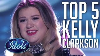 Download Lagu Top 5 Kelly Clarkson Performances On American Idol 🗽🇺🇸 Gratis STAFABAND