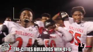 Tri-Cities Bulldogs Homecoming, Tri-Cities & Creekside fight for their first win!!! (TCHS wins 41-6)