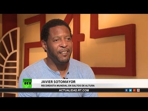 Entrevista con Javier Sotomayor, recordista mundial en saltos de altura