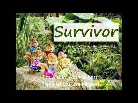 Alvin And The Chipmunks Chipwrecked: survivor (with Lyrics On Screen) video