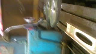 Photo frame cutting knife making