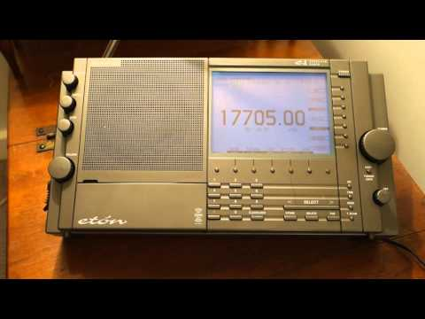 Radio Saudi Riyadh on Shortwave 17705.00 from Saudi Arabia Eton E1