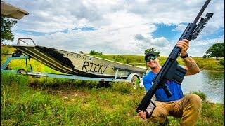 50cal VS Boat - (Surprise Ending)