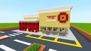 "Minecraft Tutorial: How To Make A Target Store ""2019 City Tutorial"""
