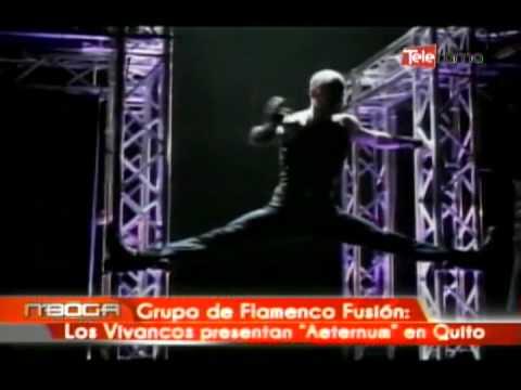 Grupo de flamenco Fusion Los Vivancos presentan Aeternum en Quito