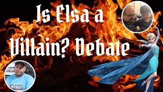 Is Elsa a Villain? Debate | Disney Talk Tuesday | Steve vs Miguel