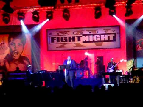 FOREST WHITAKER SINGS AT CELEBRITY FIGHT NIGHT XV