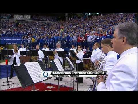 ISO Musicians perform National Anthem at Colts game 1/4/14