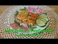Запеканка из кабачков с мясным фаршем. Baked zucchini with minced meat.