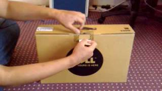 Unboxing video of Dell Inspiron 1545