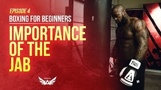 Boxing for Beginners Episode 4 | Importance of the Jab | Mike Rashid