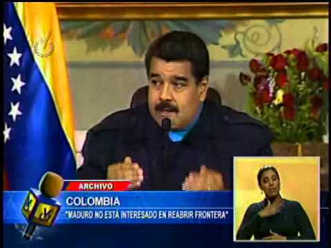 Juan Manuel Santos aseveró que Nicolás Maduro no está interesado en reabrir la frontera colombo vene