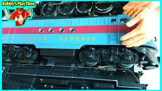 Toy Train Video For Kids Toddlers With Rebby's PlayTime