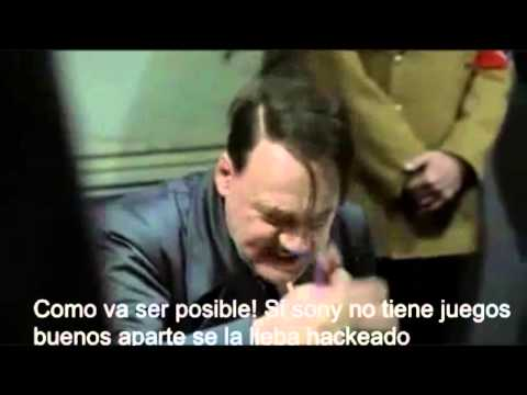 Hitler se entera que el Ps4 violo al Xbox One