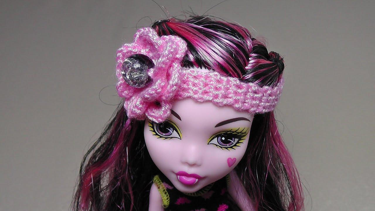 Как сделать шарф для кукол монстер хай