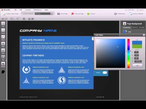 01 Редактирование страниц с помощью Moto CMS