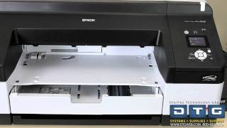 How to set up the epson stylus pro 4900 printer