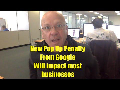 Google Pop Up Penalty