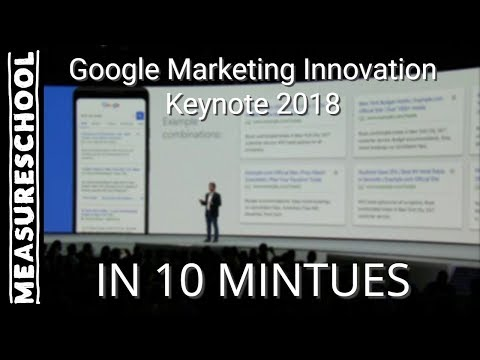 Google Marketing Innovations Keynote in 10 minutes (New features in AdWords, Analytics and more...)
