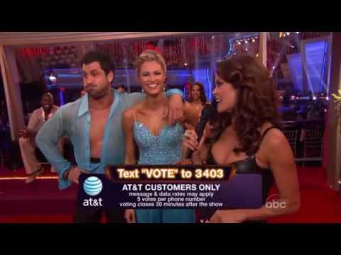 Dancing With Stars Season 10 Week 9 Erin Andrews Maksim