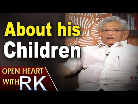 CPI(M) General Secretary Sitaram Yechury About His Children | Open Heart With RK | ABN Telugu