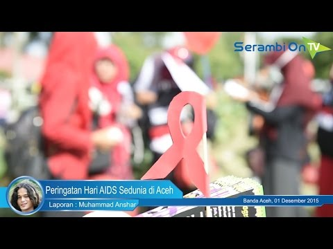 Peringatan Hari AIDS Sedunia di Aceh