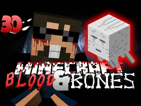 Minecraft FTB Blood and Bones 30 - KING GHASTS