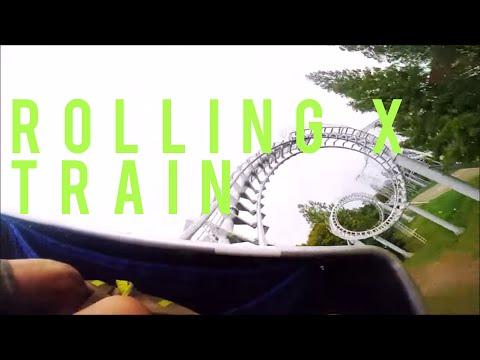 Rolling X Train Rollercoaster POV    Everland: Seoul, South Korea    TLVSION ØF NOMADS