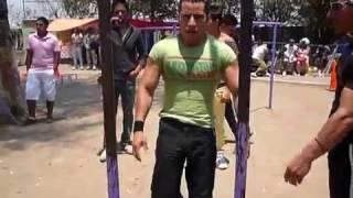 Competencia Arboledas 1er lugar Luis Gerado (El profe)│Barras México Street Workout│