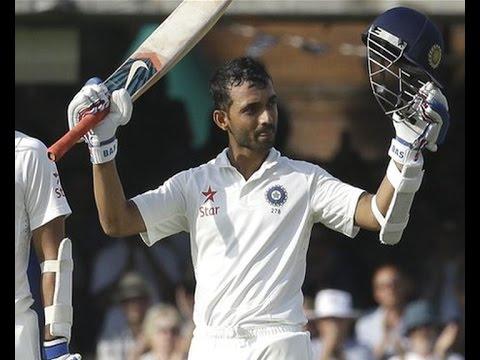 Ajinkya Rahane's gutsy century vs England