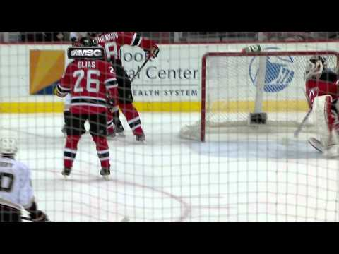 2/17/12 - New Jersey Devils vs Anaheim Ducks - Getzlaf Disallowed Goal