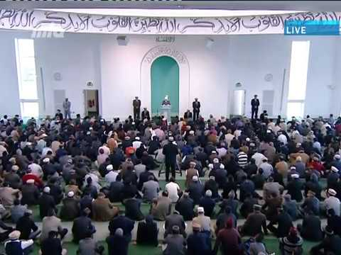 Urdu Khutba Juma 26th April 2013 - Inculcate Truth and Justice