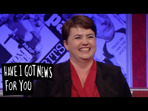 Reading Ruth Davidson's Tweets - Have I Got News For You