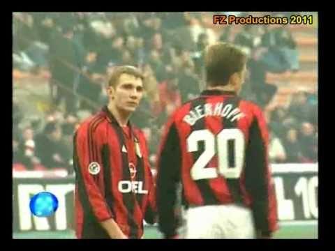 Italian Serie A Top Scorers: 1999-2000 Andriy Shevchenko (Milan) 24 goals
