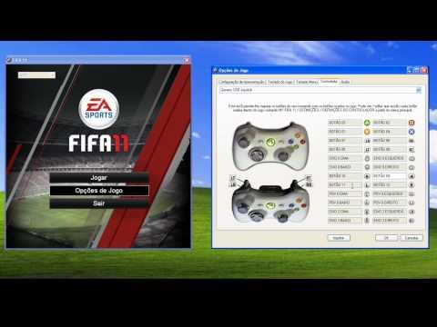 Como Configurar Controle FIFA 11