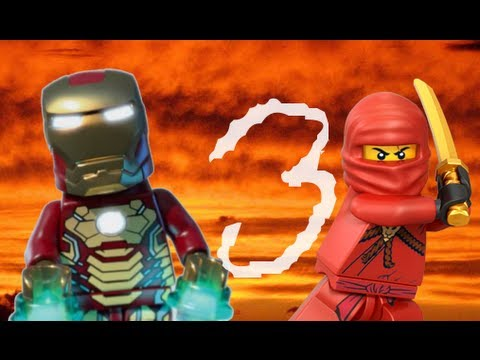 Lego ninjago vs iron man 3 youtube - Ninjago vs ninjago ...
