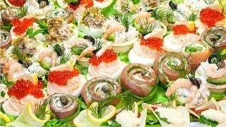 Закуска «Праздничное ассорти» - 5 вкусных рецептов!