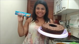 Bolo de biscoito | RESULTADO SURPREENDENTE