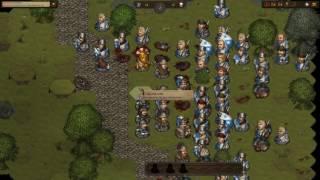 Battle Brothers: Battle against a noble house (63 units)