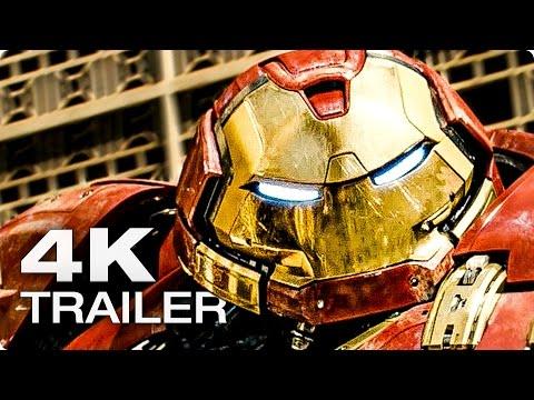 THE AVENGERS 2: Age Of Ultron Trailer Deutsch German [2015] Marvel