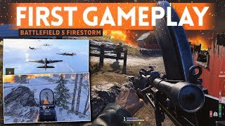 BATTLEFIELD 5 FIRESTORM GAMEPLAY: First Impressions & Thoughts