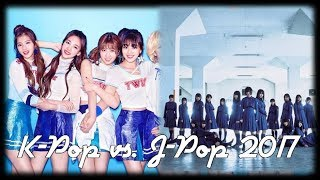 Download Lagu J-Pop vs. K-Pop | November 2017 Gratis STAFABAND